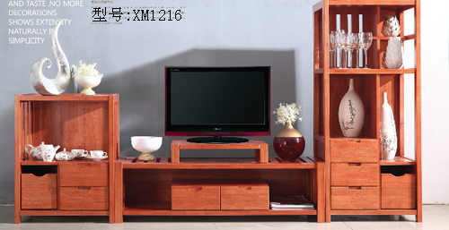 美丽华 家具系列 客厅家具 地柜电视柜     型号:橡木组合柜xm1216 12